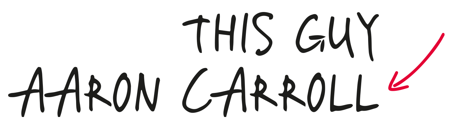 This Guy Aaron Carroll - Logo